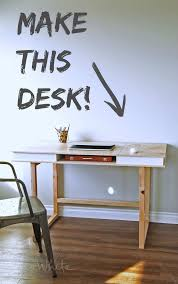 Woodworking Plans Computer Desk Free by 135 Best Office Tutorials Images On Pinterest Woodworking