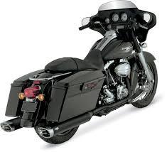 vance hines dresser duals exhaust black 541 415 j p cycles
