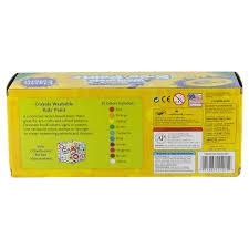 Crayola Bathtub Fingerpaint Soap Toxic by Crayola 10 Ct Washable Kids Paint Assortment Meijer Com