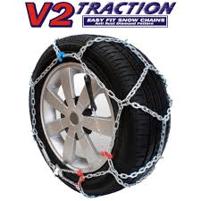 V2 Traction 2WD Easy Fit Car Snow Chains – Melbourne Snowboard Centre