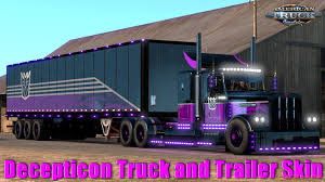 Decepticon Truck And Trailer Skin + Parts (Viper2+Outlaw Trucks) + ... Improved Truck Physics 21 American Truck Simulator Mods Triple Diamond And Trailer Repair Paradise Sioux Falls North And Trucks Accsories Modification Image Gallery Scs Softwares Blog Trailers Custom Leasing Diff Lock Lift Axle Test 16 Ertl 3605 Texaco Tanker Serial 3069 Runaway Hobby Dark Blue Semi With Storage Container Stock Photo Illustration I5487380 At Featurepics