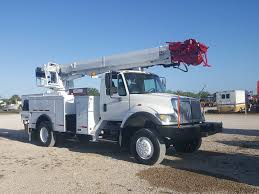 2007 International 7300 4x4 Altec DM47-TR Digger Derrick - 22063 ...