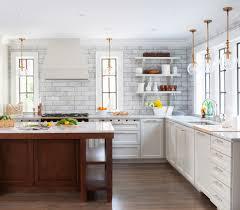 Marble Backsplash Ideas Kitchen Transitional With 1920s Bar Pulls Black