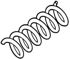 Metal Spring Clip Art