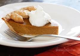 Crustless Pumpkin Pie by Skinny Pumpkin Pie Skinnytaste