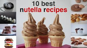 top 10 dessert recipes top 10 best nutella recipes in 10 minutes how to cook that