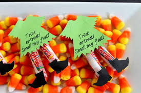 Halloween Candy Tampering 2014 by Halloween Candy Ideas Witch Legs The Country Chic Cottage