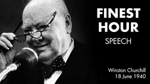 Winston Churchills Iron Curtain Speech by Their Finest Hour Speech By Winston Churchill Best Sound Youtube