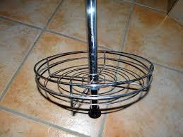teleskop rundregal klemmküchenregal rund 30 cm gebraucht in
