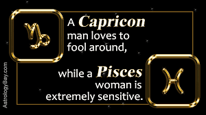 zodiac compatibility of a capricorn man and pisces woman
