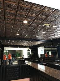 Antique Ceiling Tiles 24x24 by Restaurant Ceiling Tile Ideas U0026 Photos Decorativeceilingtiles Net