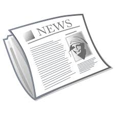 Images Pluspng Open Pluspngcom Blank Newspaper Png Transparent Image Black And White Download