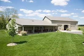 Pole Barn Home with Heated Garage Lafayette Indiana
