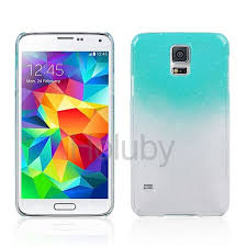 Water Drop Design Gradient Color Style Hard Case For Samsung Galaxy S5 I9600 Transparent Baby