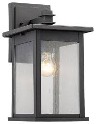 tristan 1 light outdoor wall sconce 14 high transitional