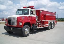 100 Ford Fire Truck 1992 L8000 2500 Gallon Tanker Jons Mid America