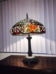 Tiffany Style Lamp Shades by Vintage Antique Tiffany Style Dragonfly Stained Glass Lampshade