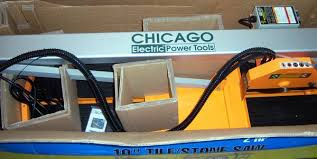 Chicago Electric Tile Saw 7 by Chicago Electric Bridge Tile Saw Espotted