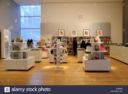 moma museum of modern book shop new york city stock photo