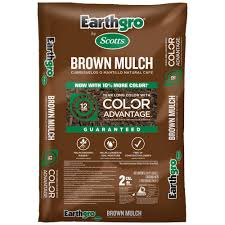 Earthgro 2 cu ft Brown Mulch The Home Depot
