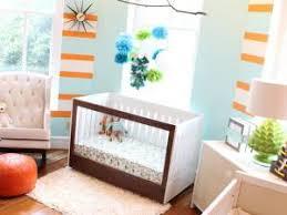 bleu chambre des chambres d enfants originales en bleu et orange par carnet deco