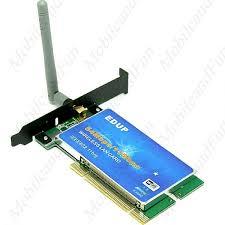 antenne wifi pour pc bureau adaptateur sans fil wifi edup ieee 802 11b g 54mbps pci