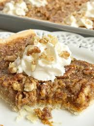 Pumpkin Pie With Pecan Streusel Topping by Pumpkin Pecan Slab Pie Together As Family