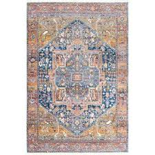 nuLOOM Orange Area Rugs Rugs The Home Depot
