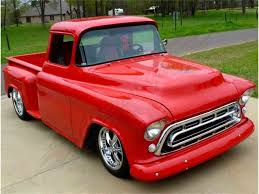 1957 Chevrolet Pickup For Sale | ClassicCars.com | CC-804041 Stella Doug Cerris 1957 Chevy 3100 Pickup Slamd Mag Truck Quiksilver Genho Stepside Built By Dp Familiar Territory Hot Rod Network Custom Alinum Billet Grille New Chevrolet Chop Top Yarils Customs 3d Chevy Truck Modified Cgtrader A Stepside Stock Photo 69021733 Alamy 1002cct01o1957chevypiuptruckcustomflamepaintjob Snow White Street The Grand