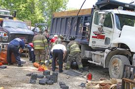 Driver Pinned Under Dump Truck Dies From His Injuries ...