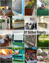 20 DIY Outdoor Projects