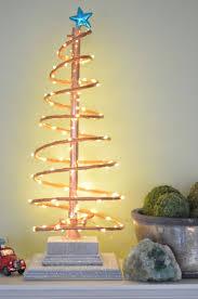 DIY Spiral Copper Christmas Tree