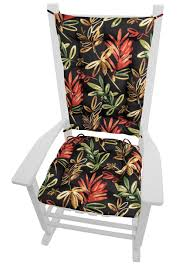 Manilla Black Indoor/Outdoor Rocking Chair Pads- Size Extra Large ... Botanical Glow Tiger Lily Inoutdoor Rocking Chair Cushion Amazoncom Indoor Outdoor Set Pad Nonslip Bedroom Outstanding Design Of Cushions For Nursery Chairs Large Seat Pads Winsome Target With Fabulous Unique Styles Comfort Classic Channeled Sunbrella Chaise Lounge Wingback Black Adirondack Bistro Arm Fniture Kitchen Polyester Tartan Check Garden Ding Ideas And Charming Accsories Attractive Ikea Your Comfortness Sets Decor Ideasdecor Pier One Metal Retro Buy Vintage Babies R Us