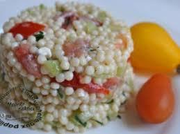 salade de pâtes jambon fêta concombres tomates et ciboulette