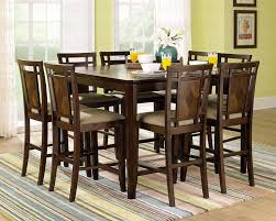 Back To Bar Height Dining Table And Chairs Set