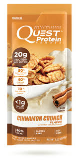 Cinnamon Crunch Protein Powder