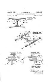 Leveraged Freedom Chair Patent by A Real Eames Patent The Leg Splint Show Us Your Eames Splint