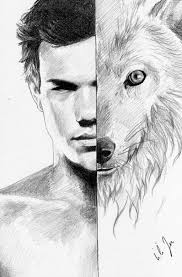 Pencil Drawing Of Jacob Black From The Twilight Series Twilight En