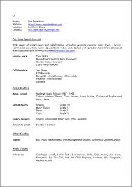Musician Resumemusical Resume Music Production Sample Template Teacher Example Musical Theater Word