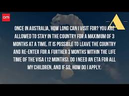 visa bureau australia how can you stay in australia without a visa
