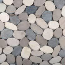 pebble look tile for shower floor