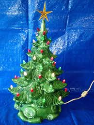 Ebay Christmas Trees With Lights by White Ceramic Christmas Tree With Lights Lookup Beforebuying