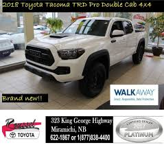 2018 Toyota Tacoma TRD PRO Rare Truck | Cars & Trucks | Miramichi ... Preowned 2014 Toyota Tacoma Sr5 Extended Cab Pickup T21144a Trucks For Sale Nationwide Autotrader New 2018 Trd Sport Double In Escondido Is A Truck Well Done Car Design News Pro Rare Cars Miramichi 2019 4wd Crew Gloucester 2016 Off Road Hiram For Garden City Ks 3tmcz5an0km198606 Tuscumbia Truck Of The Year Walkaround Sale Houston Tx Mike Calvert 2017 San Antonio