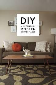 Danish Modern Sofa Legs by Diy Mid Century Modern Coffee Table U2013 Jamie Bartlett Design