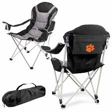Clemson Tigers Black Reclining Camp Chair Ncaa Chairs Academy Byog Tm Outlander Chair Dabo Swinney Signature Collection Clemson Tigers Sports Black Coleman Quad Folding Orangepurple Fusion Tailgating Fisher Custom Advantage Zero Gravity Lounger Walmartcom Ncaa Logo Logo Chair College Deluxe Licensed Rawlings Deluxe 3piece Tailgate Table Kit Drive Medical Tripod Portable Travel Cane Seat