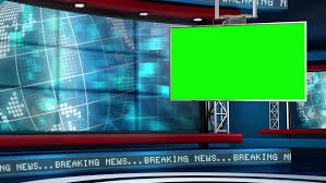Visually Similar Footage Hd0010News TV Studio Set
