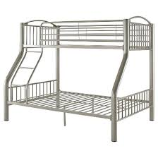 sawyer bunk bed twin over full pewter oak grove collection