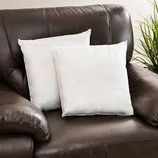 Replacement Sofa Pillow Inserts by Pellon Decorative Pillow Inserts Set Of 2 Free Shipping On