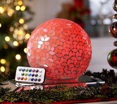 Qvc Bethlehem Lights Christmas Tree Recall by Mosaic Pearl Sphere With Multi Function Light By Valerie Page 1