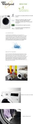 lave linge whirlpool awoe41048 whirlpool awoe41048 lave linge frontal 10 kg 1400 tours